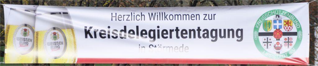 Banner Delegiertentagung